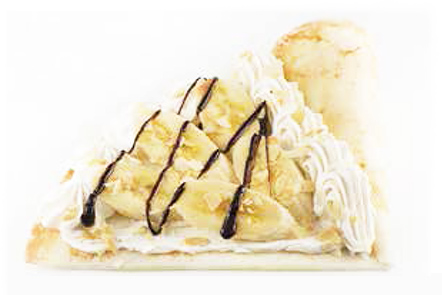 アーモンドバナナチョコクリーム
